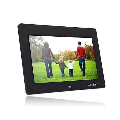10'' HD TFT-LCD 1024*600 Digital Photo Frame Clock MP3 MP4 Movie Player V2D7