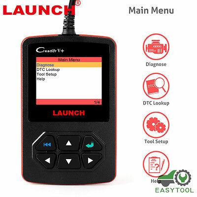 Launch X431 Creader V  Obd2 Eobd Car Fault Code Reader Auto Diagnostic Scan Tool
