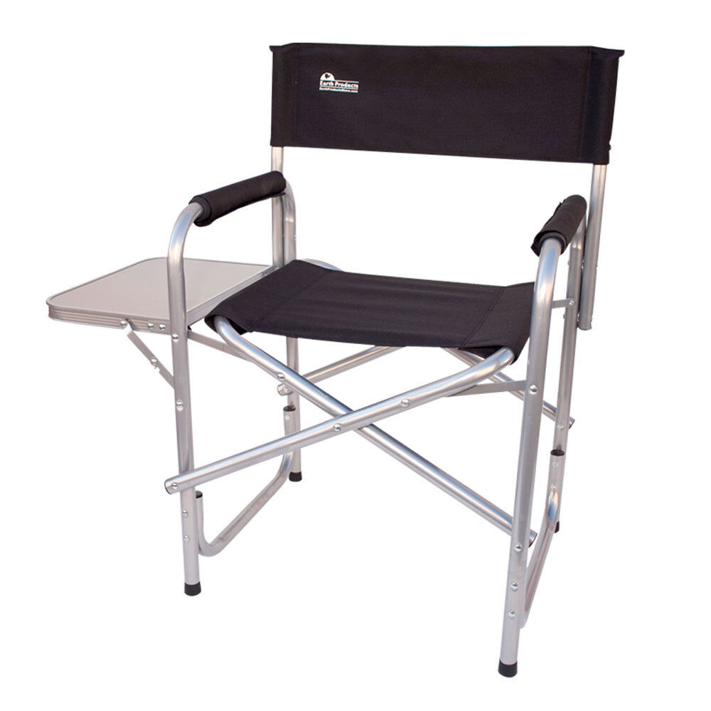 Heavy Duty Short Director Chairs w /side tableOutdoor Chair