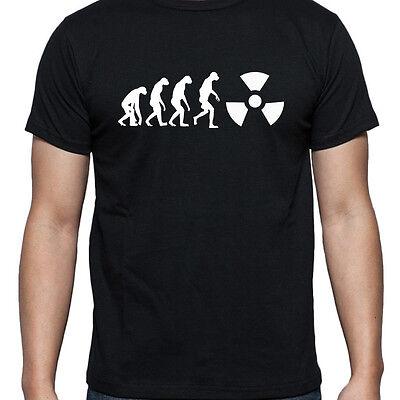 Radioactive Superhero (EVOLUTION OF RADIOACTIVE RADIATION PERSONALISED T SHIRT FUNNY SUPERHERO)