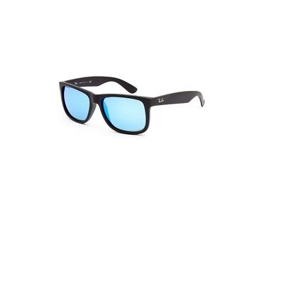 Rayban Justin Color Mix Nylon Frame Blue Mirror Lens Unisex Sunglasses RB4165 62