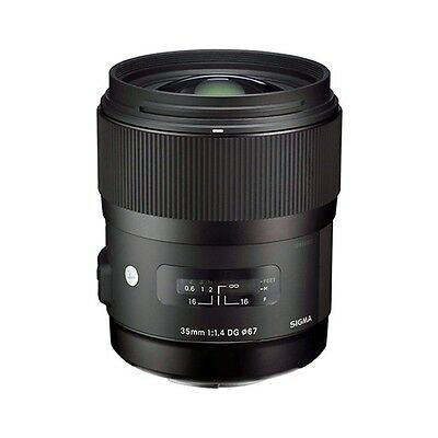 Sigma 35mm f/1.4 DG HSM Art Lens for Nikon Digital SLR Cameras - NEW