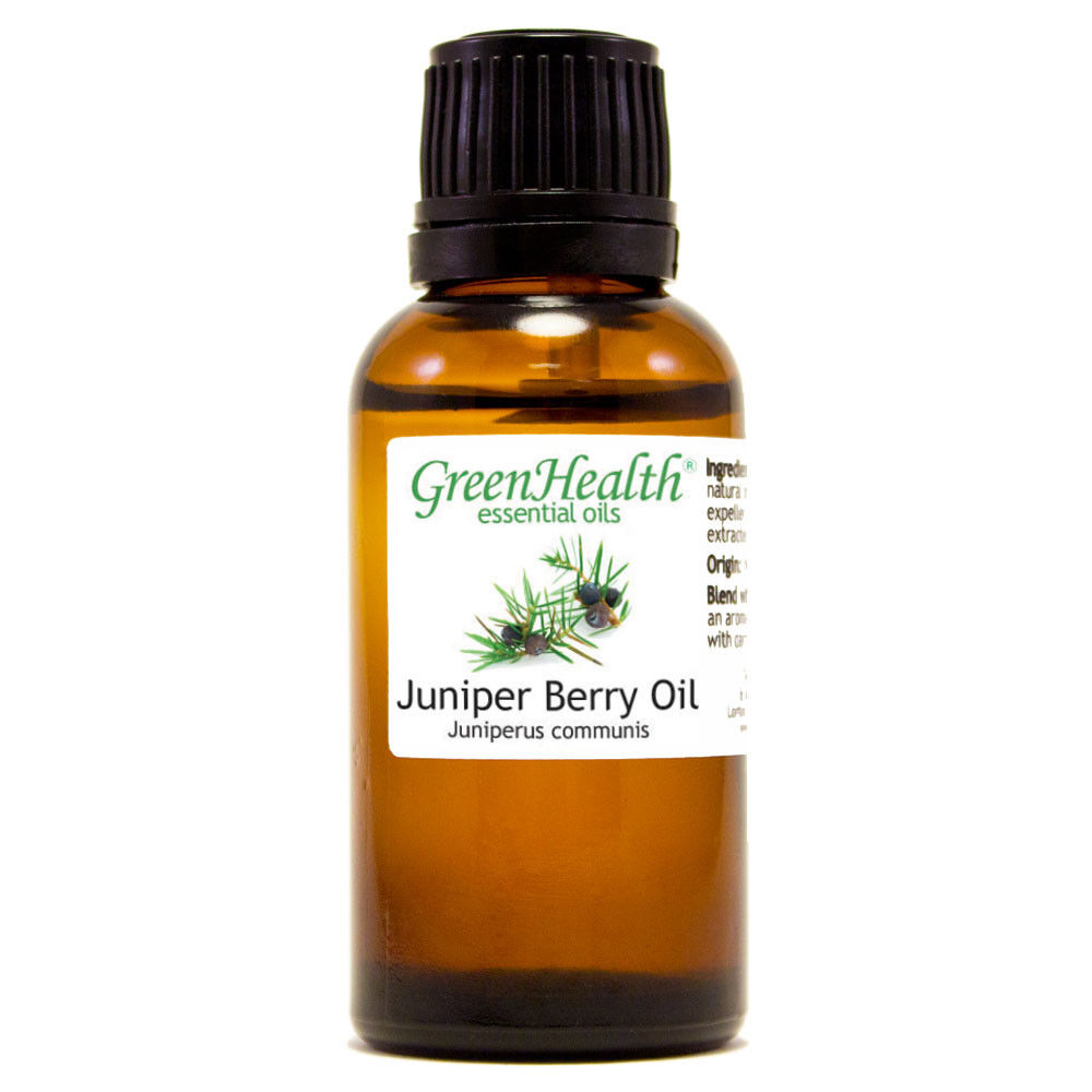 Essential Oils 30 mL (1 oz) - Pure & All Natural - Aromatherapy Oil Juniper Berry