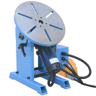 110vWelder Welding Positioner Turnable Table Tilt 0-135° Foot Pedal 220 - 480lbs