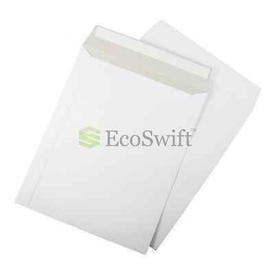 15 - 9.75 X 12.25 Self Seal White Photo Ship Flats Cardboard Envelope Mailers