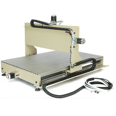 Usb Cnc 6090 Router 4axis Engraver Wood Carving Mill Machine 2.2kw W Controller