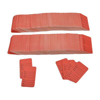 """1000 Pcs Large Red Merchandise Coupon Price Tag Perforated 1-3/4""""x 2-7/8"""""""