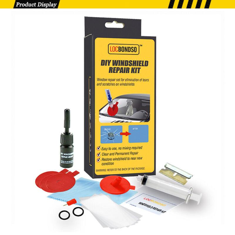 Car Auto DIY Windscreen Windshield Wind Screen Repair Glass Chip Crack Tool Kit