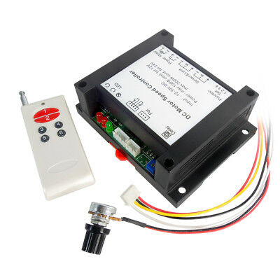 12-30v 200w Dc Motor Speed Controller Pwm Hho Rc Linear Governor Remote Control
