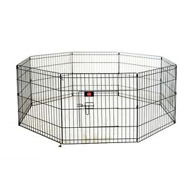 Puppy crate and play pen