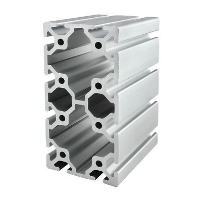 8020 Inc T Slot 80mm X 160mm Aluminum Extrusion 40 Series 40-8016 X 1220mm N