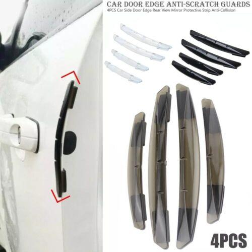 4x Car Door Edge Scratch Anti-Collision Protector Guard Strip Cover Accessories Car & Truck Parts