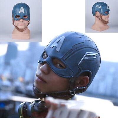 Infinity Halloween (Captain America Helmet Cosplay Avengers Infinity War Halloween Party Mask)