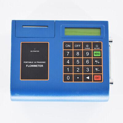 Ultrasonic Flowmeter Flow Meter Built-in Printer Tuf-2000p-tm-1 Dn50mm-dn700mm