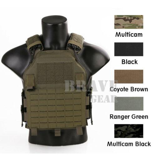 Emerson LAVC Assault Tactical Vest MOLLE Quick Release Plate Carrier Body Armor