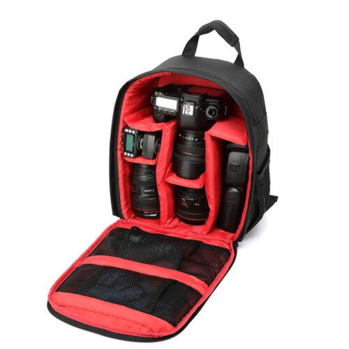Waterproof DSLR SLR Camera Shoulder Case Bag Backpack For Canon EOS Nikon Sony