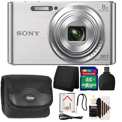 Цифровой фотоаппарат Sony DSC-W830 20.1MP Point