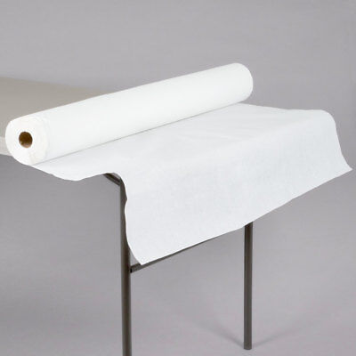 White Tablecloth Roll (40
