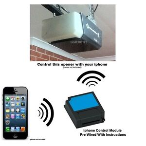 Iphone Remote Control fits B&D Controll-A-Door 4 CAD4 Garage Door Opener