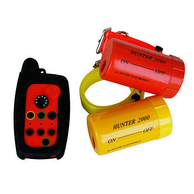 Dog Beeper Collar - Remote Dog Beeper Collar HUNTER 2000 FOR 2 DOGS