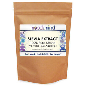 White Stevia Extract Powder - 100% Pure - No Fillers/Additives! 16 oz/1 lb. Bulk