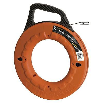 Depth Finder Fish Tape (Klein Tools Depth Finder Steel Fish Tape Rod 125 Feet Electrical Electric Tool)