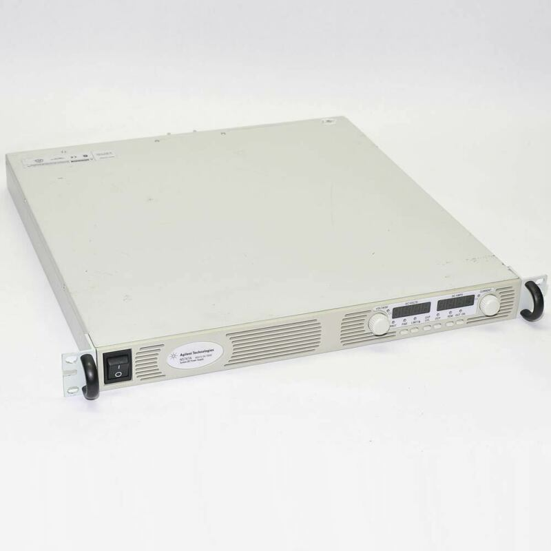 "Agilent N5747A 0-60V 0-12.5A 750W System DC Power Supply 19"" 1U Rackmount AS-IS"
