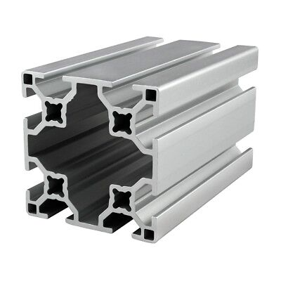 80//20 Inc TSlot 40mm x 80mm Aluminum Extrusion 40 Series 40-4080-Lite x 1830mm N