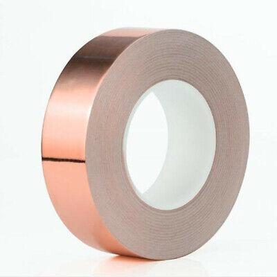Single Conductive Roll Adhesive Emi Shielding Copper Foil Tape 10mm X 20m