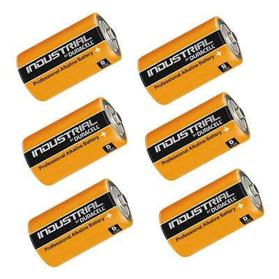 6x Duracell INDUSTRIAL Procell 1.5V Type D Cell MN1300 LR20 Alkaline Batteries Industrial Plus Alkaline-batterien