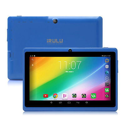 "iRULU eXpro 7"" Touch Screen Android 6.0 Marshmallow 8GB Tablet PC BT GMS Blue"