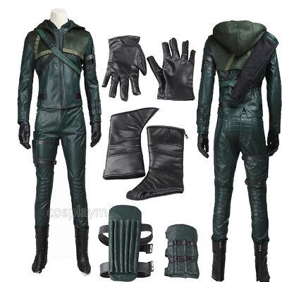 Green Arrow Season 3 Costume Superhero Green Arrow Oliver Queen Cosplay - Green Arrow Adult Costume
