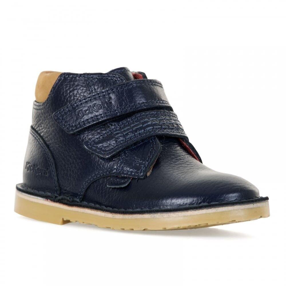 brand new in box Kickers Adler 316 size 10 boys boots in dark blue