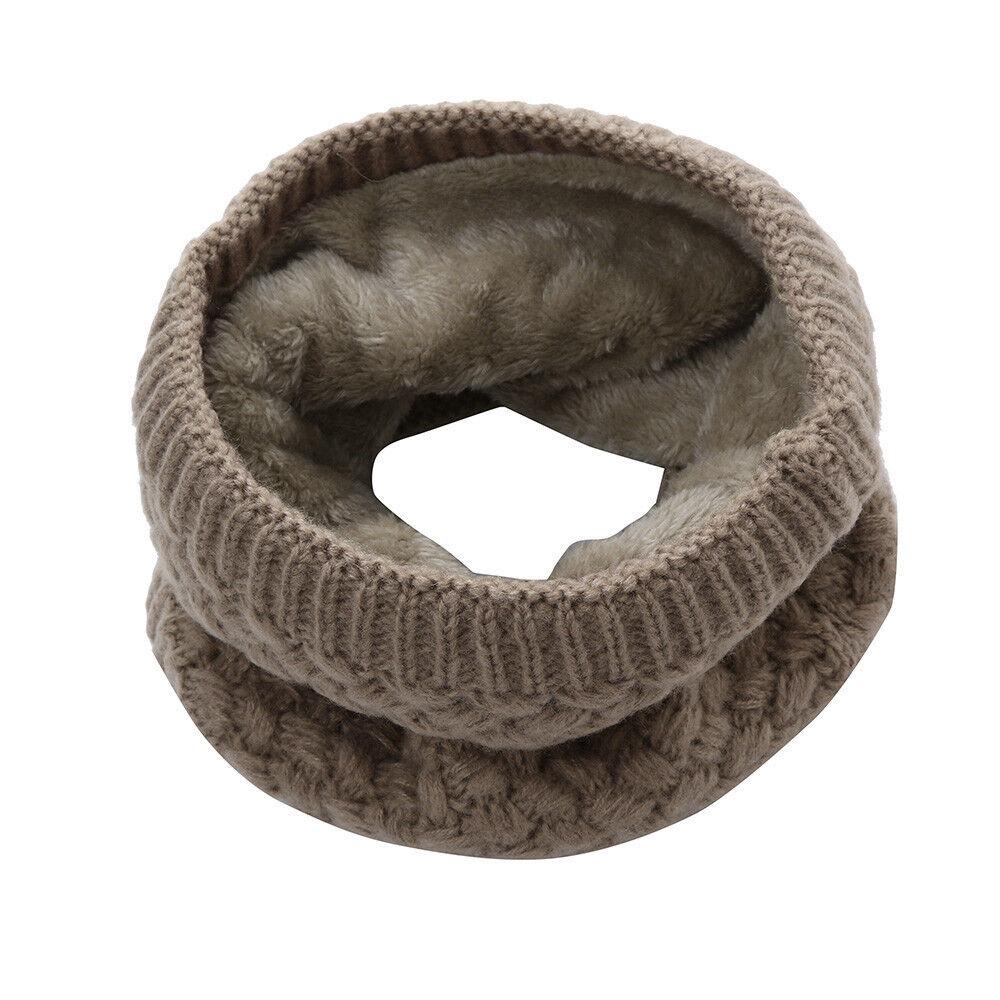 Fashion Man Winter Warm Scarf Wome Bufanda Thickness Knitted Collar