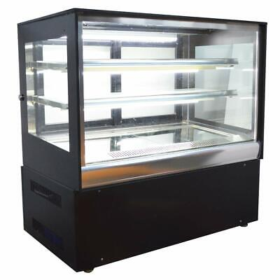 220v Countertop Refrigerators Cake Showcase Right Angle Cooling Display Case