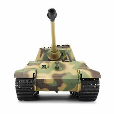 NEW V6 UK Heng Long Radio Control Tank King Tiger Military 1/16 BB shooting 2.4G for sale  Shipping to Ireland