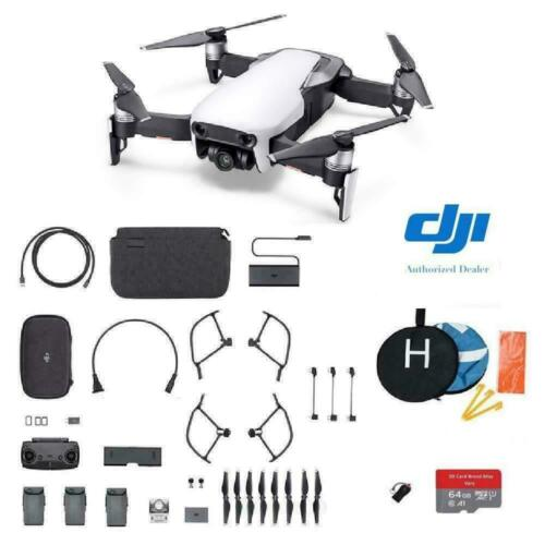 DJI Mavic Air - Arctic White Drone - Fly More COMBO Plus Starter Kit
