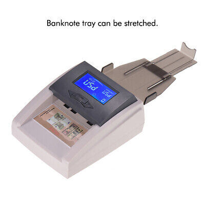 Automatic Money Detector Counterfeit Bill Currency Banknote Checker Tester J5C2