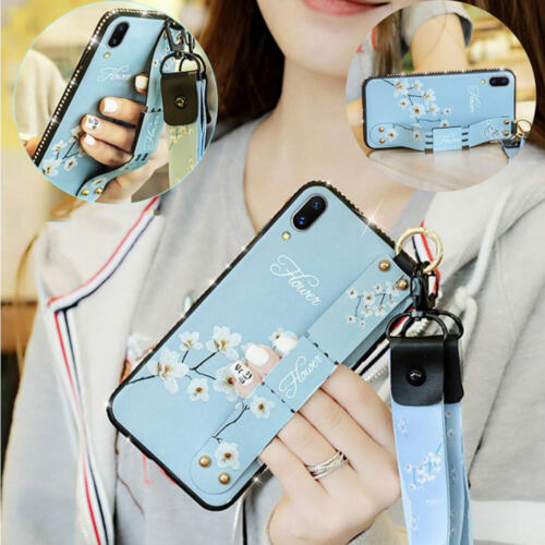 For iPhone XS Max XR 8 7 6 6S Plus Glitter Silicone Case Cov