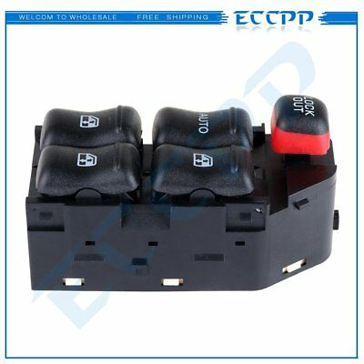 Power Window Switch For Chevrolet Malibu 1997-2004 Front Driver Side New