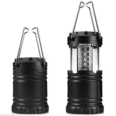 Camping Lantern Collapsible Portable 30 LED Hiking Night Light Flashlights Lamp