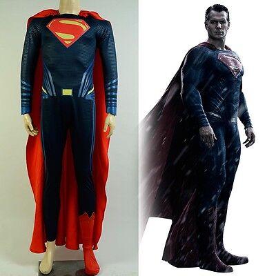 Batman v Superman:Dawn of Justice Clark Kent Suit Cosplay Costume Outfit Uniform - Batman V Superman Suit
