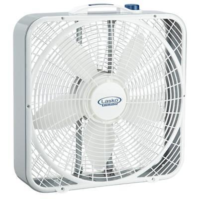 Lasko 3720 20″ Weather-Shield Performance Box Fan-Features
