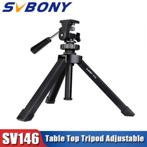 SVBONY Table Tripod Adjustable metal for Spotting Scope Bino