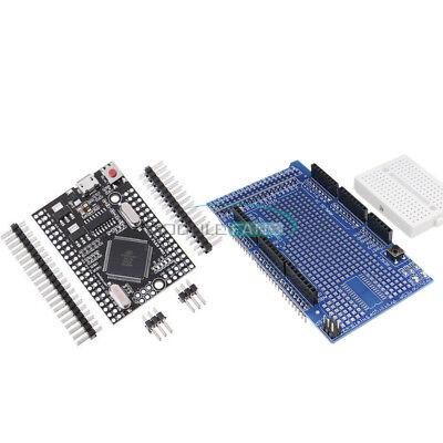 Mega 2560 Pro Protoshield V3 Usb Ch340g Mini Development Board Atmega2560-16au