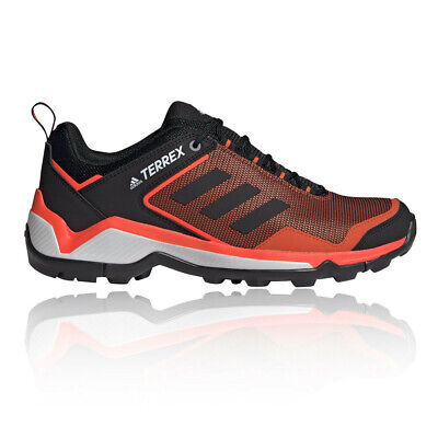 adidas Mens Terrex Eastrail Walking Shoes - Black Orange Sports Outdoors
