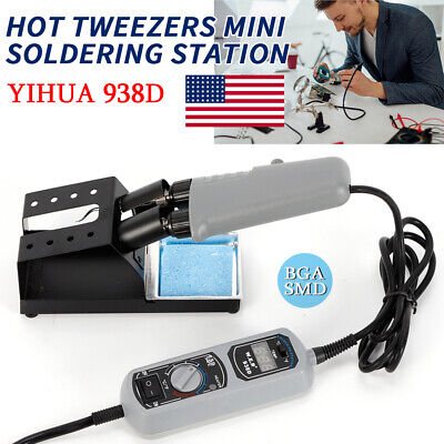 Yihua 938d Hot Tweezers Soldering Desoldering Station For Bga Smd Repairing Us
