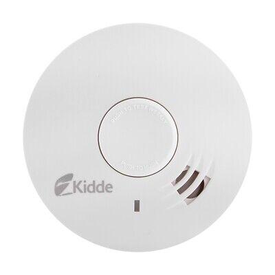 10 Year Lithium Battery Powered Optical Smoke Alarm - Kidde 10Y29