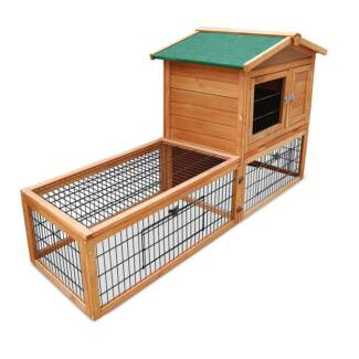 2 Storey Rabbit or Guinea Pig Hutch with Side Run BRAND NEW