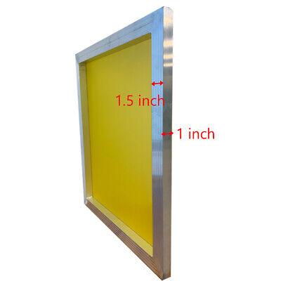 Usa - Aluminum Silk Screen Frame - 230 Yellow Mesh 23 X 31 - 6pcs